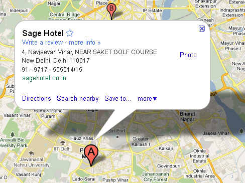 3 star hotels in south delhi